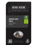SENSI #32 (Silver Haze x Fire OG) ® * SENSI SEEDS RESEARCH FEM