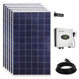 1710 Watt Solaranlage Photovoltaikanlage Plug & Play für die Steckdose mit WiFi