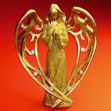 goldengel mit strasssteinchen