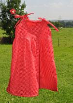 Pünktli- Kleid in rot