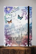 Notizbuch mit Kunstledereinband 1