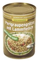 (Nr.50190) Perlgraupengrütze mit Lammfleisch