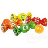 """(Nr.12111) Hartkaramelle """"Bim Bom"""" mit Füllung Erdbeere, Ananas, Birne"""