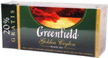 (Nr.30130) Tee Greenfield Golden Ceylon 25 Btl.x2g