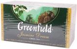 (Nr.30150) Tee Greenfield Grün Jasmin Dream 25St x2g