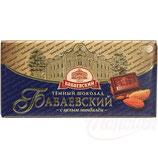 """(Nr.11470) Schokolade """"Babaevskij"""" mit ganzen Mandeln"""
