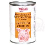 (Nr.50040) Geschmortes Schweinefleisch in Stücken