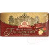 """(Nr.11460) Schokolade """"Babaevskij"""" mit Haselnüssen"""