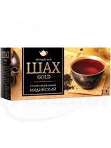 """(Nr.30290) Schwarzer indischer Tee """"Schah Gold"""" 25 Btl."""