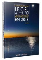 Le ciel à l'oeil nu en 2018