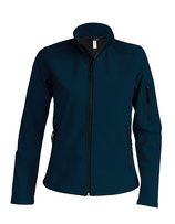 Ladies Softshell Jacket Navy