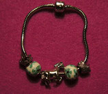 "Art:Nr:003 Bead Armband "" Pferd und Igel"""