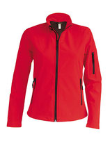 Ladies Softshell Jacket Red