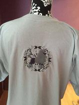 Art:Nr:215879  T-Shirt Bestickung,Pudel