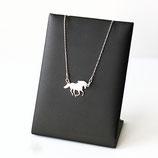 Art:Nr:04 Silberkette mit Pferd