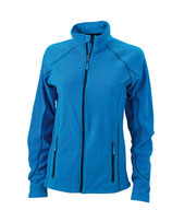 Ladies´ Structure Fleece Jacket Aqua Navy