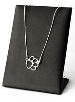 Art:Nr:01 Hübsche Silberkette mit Pfote