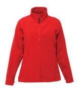 Women´s Uproar Softshell Jacket Classic Red Seal Grey
