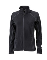 Ladies´ Structure Fleece Jacket Black Carbon