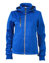Ladies´ Maritime Softshell-Jacket Nauticblue Navy White
