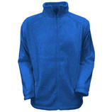 "Outdoor Full Zip Fleece Jacke ""Royal"""