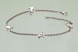 "Art:Nr:CS14   925er Silber Armband"" 4 Katzen"""
