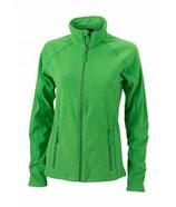 Ladies´ Structure Fleece Jacket Green Dark Green