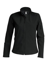Ladies Softshell Jacket Black