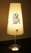 """Art:Nr:12659 Tischlampe bestickt, Motiv """" Afghane"""""""