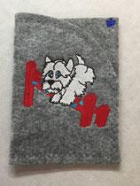 Art:Nr:0080 Hülle für mehrere Impfpässe ,West Highland White Terrier,B:13 cm L:18 cm