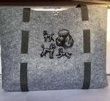 Art:Nr:904789 Hübscher Shopper aus Filz