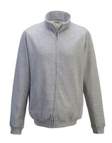 Sweat Jackets  Heather Grey