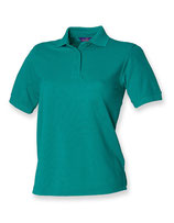 Ladies Piqué Polo Jade