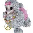 Art:Nr:38400 Hänger Peace Pudel, grau/rosa grau/rosa