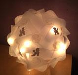 """Art:Nr:0124 Kugellampe """" Pudel """""""