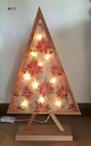 Weihnachtsbäume aus Holz!
