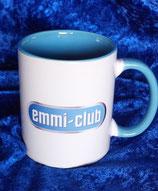 Art:Nr.20030012 Keramiktasse mit Logo Emmi Club