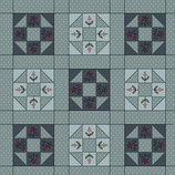 HOMESEWN Q2226-77 BLOQUES PATCH AZUL