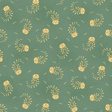 1546-11 SAGE & SEA ROSAS DISPERSAS AZUL