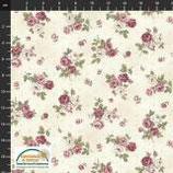 4501-483 KELLY-ROSES ROSAS PEQUEÑAS FONDO CREMA