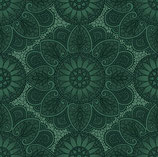 1536-11 SAGE & SEA GLASS MANDALA AZUL