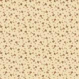 2108-33 BUTTERMILK BLOSSOMS FLORECITAS FONDO CREMA