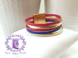 Bracelet cuir SABINE