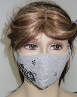 Mund- Nasen- Maske  mit Filtertasche, Behelfsmaske