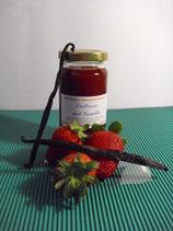 Erdbeere mit Vanille Aufstrich