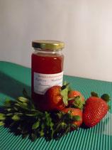 Erdbeer-Waldmeister-Prosecco Aufstrich