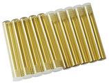 Gläser, 1,5g, D 8mm, VE =100 Stück, Braunglas