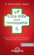 Ratera, Manuel Mateu i.; Erste Hilfe durch Homöopathie