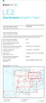 ICAO Karte LE2