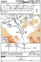 IFR Anflugkarte für einzelne Flugplätze